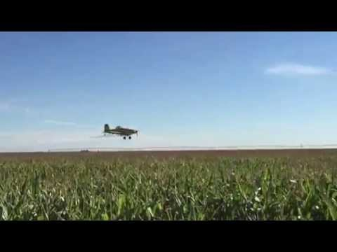 Preventative application spraying in SW Kansas