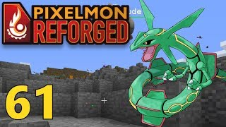 [61] Rayquaza And The Living Pokedex Challenge! (Pixelmon Reforged Gameplay)