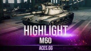 Янки в деле! M60/T110E5 на карте Редшир