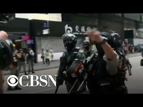Hundreds arrested in Hong Kong pro-democracy protests