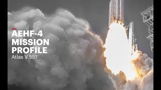 Atlas V AEHF-4 Mission Profile