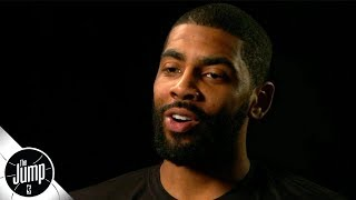 Kyrie Irving exclusive interview on Celtics' struggles, LeBron James, free agency buzz | The Jump