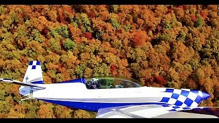 Fall Flying in the Blue Ridge Mountains by Tyson Rhame