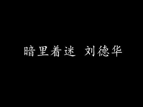 暗里着迷 刘德华 (歌词版)