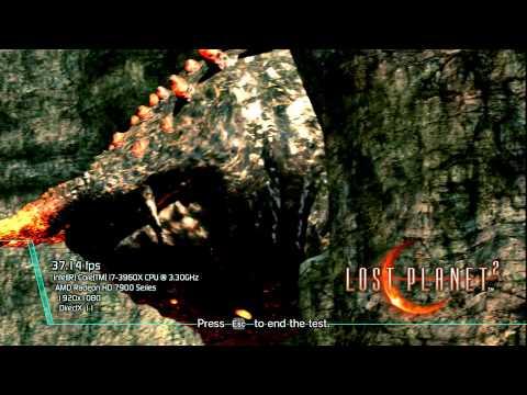 Lost Planet 2 Benchmark | AMD Trinity APU | Vishera FX | Haswell GT3