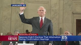 Pelosi Says AG Jeff Sessions Should Resign After 'Lying Under Oath'