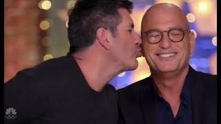 America's Got Talent Judges Read out Fans Tweets and It's Spot On! (Simon kisses Howie?)