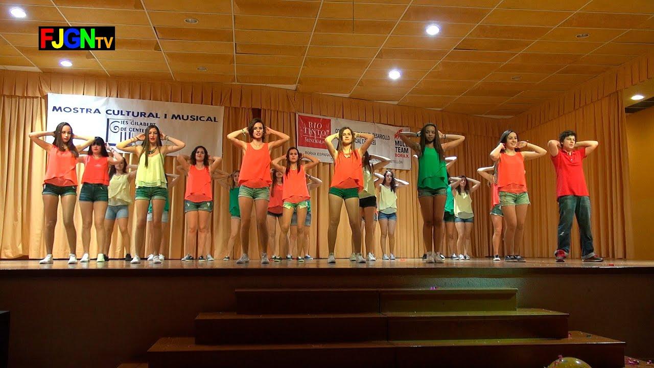 06. Pegate un poco mas (1º Bach A) - XV Mostra musical i cultural IES Gilabert de Centelles 2015 Nules