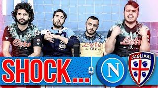 🥶SHOCK... NAPOLI 1-1 CAGLIARI | LIVE REACTION TIFOSI NAPOLETANI HD