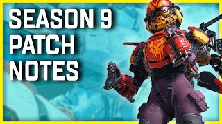 Apex Legends Season 9 Update Patch Notes - Many Balance Changes Coming!
