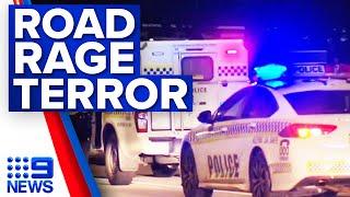 Learner driver hospitalised after road rage attack   9 News Australia