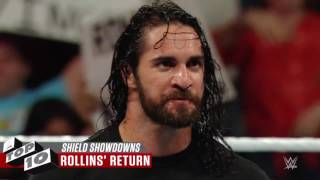 Top10 WWE-Những lần The Shield đánh nhau kinh điển nhất WWE
