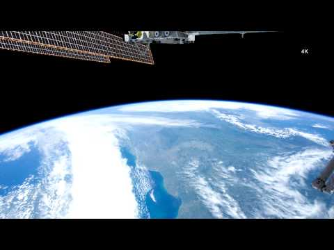 Europe In Orbit ISS | Ultra HD 4K Resolution