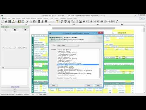 SFREP Market Analysis Service