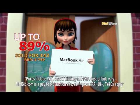 MadBid.com Postman TV ad 2015 - Earned Discount