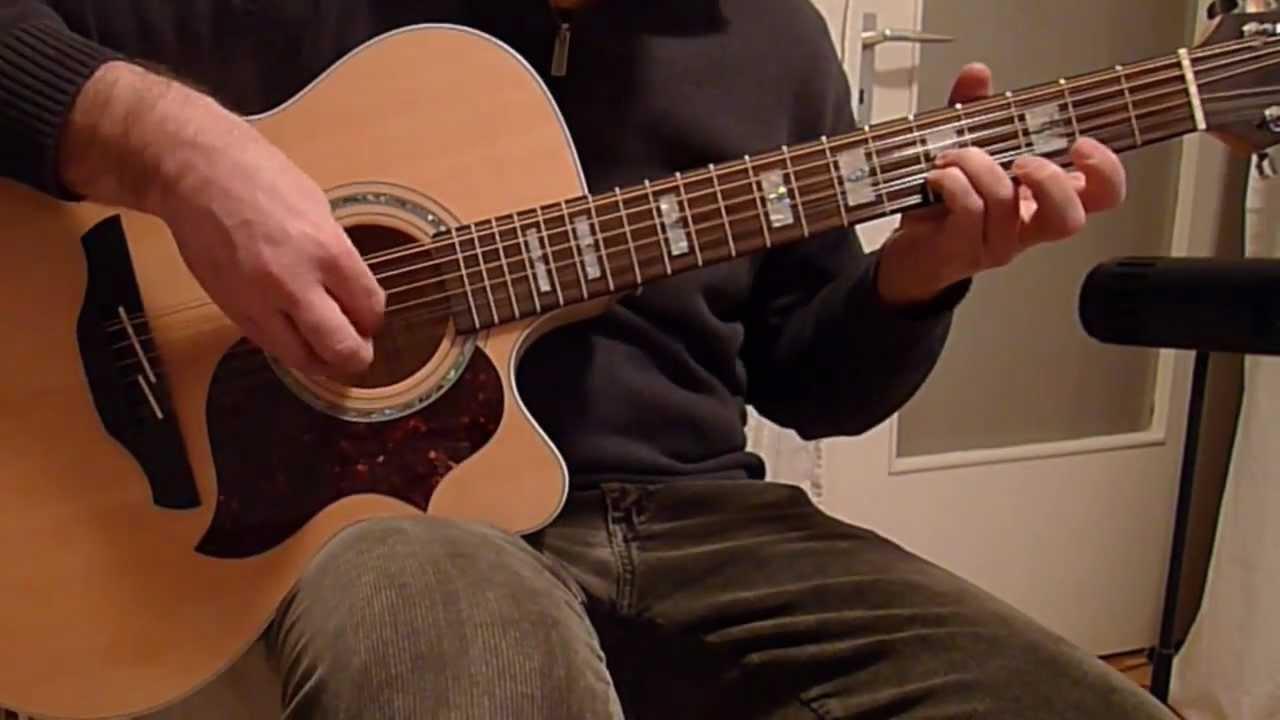 12 string guitar fingerstyle solo takamine eg523sc 12 youtube. Black Bedroom Furniture Sets. Home Design Ideas