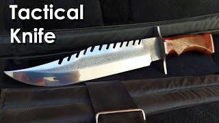 Fabricación de cuchillo Táctico estilo Rambo