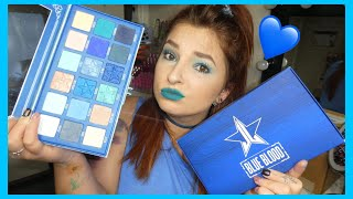 Blue Blood Eyeshadow Palette Review | Jeffree Star Cosmetics | Cerise1307 |