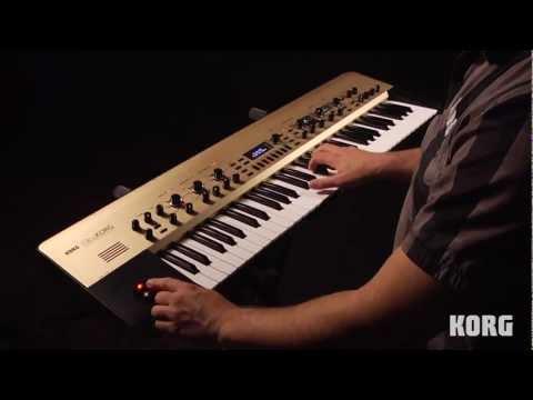 Démo King KORG synthétiseur analogique (La Boite Noire)