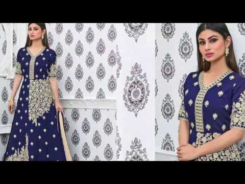 Latest Anarkali dresses: Designer Anarkali Suits & Long Gown Style Designer Dresses Latest Fashion