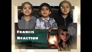 """Twin Sisters Reaction on SCARIEST ANIMATION """"FRANCIS"""" 
