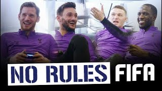 NO RULES FIFA 19!    HUGO LLORIS & JAN VERTONGHEN V MOUSSA SISSOKO & KIERAN TRIPPIER