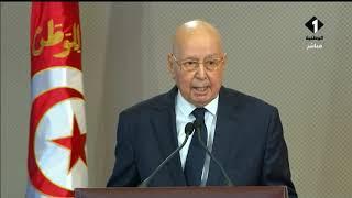 تونس تودع رئيسها | كلمة تأبين السيد رئيس دولة الجزائر ع ...