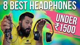 TOP 8 BEST BLUETOOTH EARPHONES & HEADPHONES UNDER ₹1500 ⚡⚡⚡(2019)