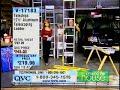 QVC ladder fall