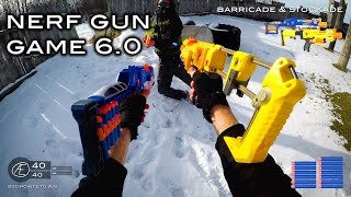 Nerf meets Call of Duty: Gun Game 6.0   First Person in 4K!