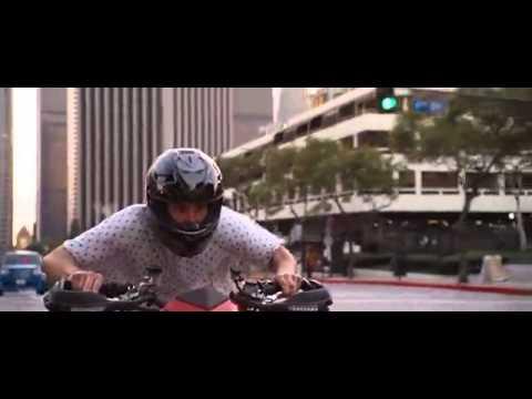 джим кери на мотоцикле
