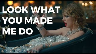 """TAYLOR SWIFT'S """"LOOK WHAT YOU MADE ME DO"""": ALL THE EASTER EGGS, SHADE AND SYMBOLISM"""