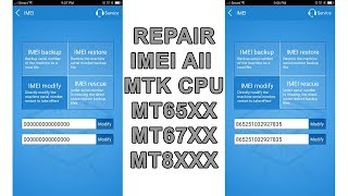 How To Create NVRAM File To Repair IMEI of All MTK (MediaTak