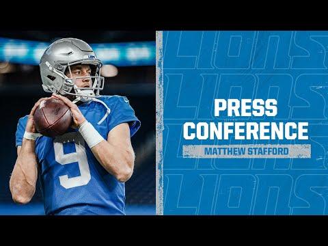 Detroit Lions vs. Houston Texans | 2020 Week 12 Matthew Stafford postgame press conference