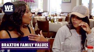 Trina & Towanda Explain the Strike   Braxton Family Values   WE tv