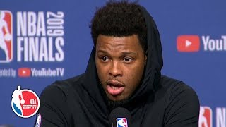 Kawhi is a 'fun guy' and just a 'regular, cool dude' - Kyle Lowry | 2019 NBA Finals
