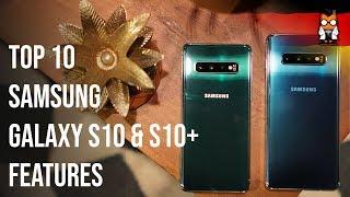 Unsere Top 10 Samsung Galaxy S10 & 10+ Features [Deutsch/German]