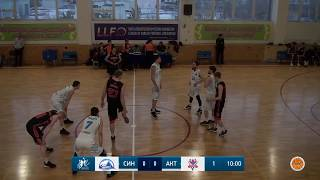 "National League among men's teams - 1/4 final: ""Sinegoryie"" - ""Aktobe"" (1st match)"