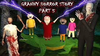 Android Games - Granny Horror Story Part 5 (Animated Cartoon For Kids) Make Joke Horror
