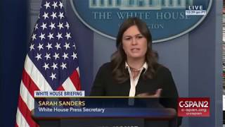 Sarah Huckabee Sanders: Jeff Flake Acted as a 'Mouthpiece' for Oppressive Cuban Government