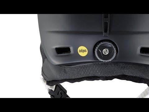 Anon Prime Mips Snowboard Helmet - Black