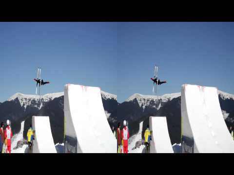 Bukovel 3D Free style Euro Cup 2011