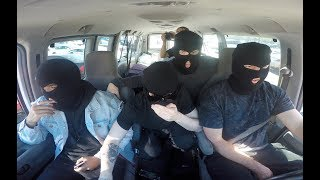 BANK PRANK GONE WRONG!! (ARRESTED AT GUNPOINT)
