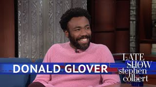 Donald Glover Meets The Girl Scout Who Went Viral With 'Redbone'