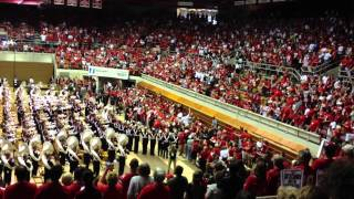 The Ohio State University Marching Band Skull Session 9/6/2014