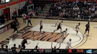 Idaho State vs Montana Western MBB Final Highlights