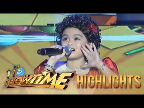 It's Showtime: Lea Salonga MiNiME impresses with her version of