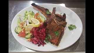 How To Make British Indian Restaurant Style Lamb Chops with Chef Najib Ali - Steven Heap