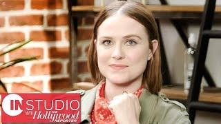 "'Westworld' Star Evan Rachel Wood on Season 2: ""This is The Season of War"" | In Studio With THR"