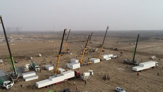 Live: Temporary quarantine homes being built in Hebei's Shijiazhuang – Ep. 4